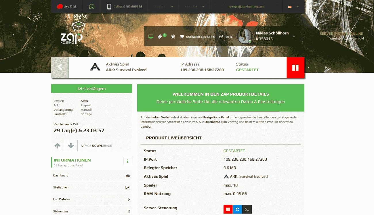 ark server 4 slots