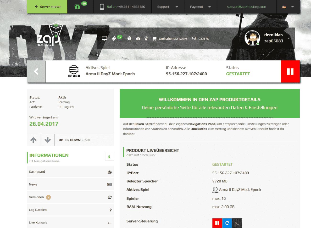 dayz server 30 slots