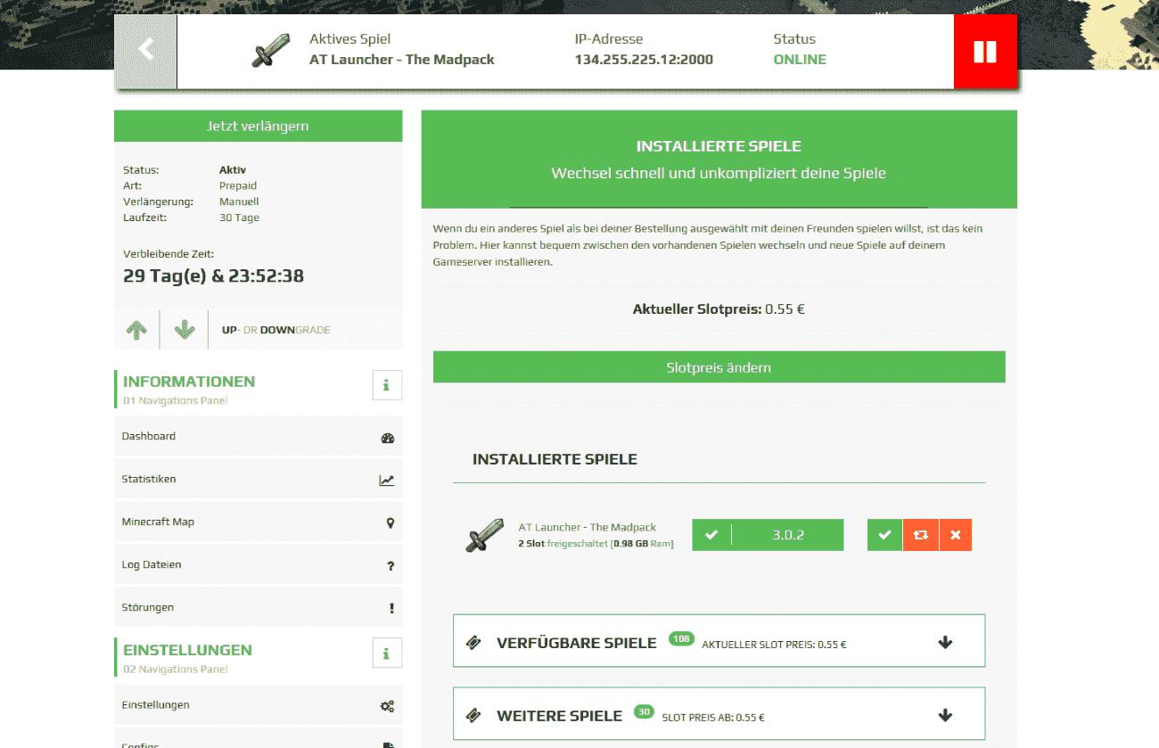 Rent A Spigot Server ZAPHostingcom - Minecraft server erstellen 1 8 spigot